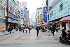 Shopping street Stock Image