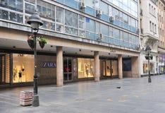 Shopping street of Belgrade, Serbia Royalty Free Stock Image