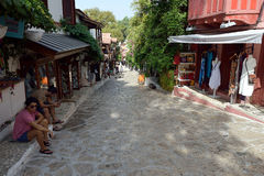 Shopping Street, Kaş Royalty Free Stock Images