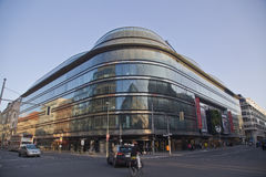 The shopping street Kurfuerstendamm Royalty Free Stock Photography