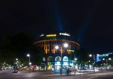 The shopping street Kurfuerstendamm in night illumination Stock Photography