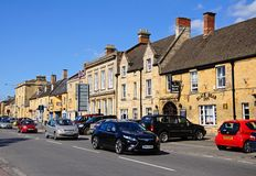 Shopping Street, Moreton-in-Marsh. Stock Photography