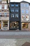 Shopping street. In the Netherlands Royalty Free Stock Photos
