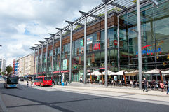 Shopping street of Pforzheim Stock Photography