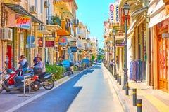 Shopping street in Rethymno