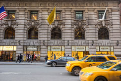 Shopping street at 5th Avenue in NYC Stock Image