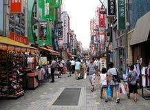 Shopping street Stock Photos