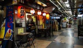 Shopping subterrâneo de Asakusa Foto de Stock Royalty Free