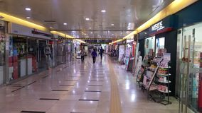 Shopping subterrâneo de Nampo Foto de Stock