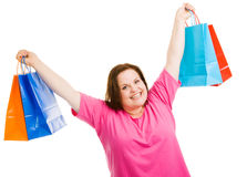Shopping Success Royalty Free Stock Photo