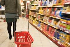 shopping supermarket Στοκ εικόνα με δικαίωμα ελεύθερης χρήσης