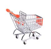 Shopping supermarket cart Royalty Free Stock Photography