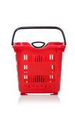 Shopping supermarket trolley isolated Royalty Free Stock Photos