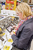 Shopping for tablet pc Royalty Free Stock Images