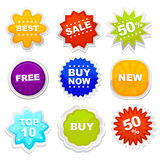 Shopping tag vector Royalty Free Stock Photos