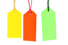 Shopping tags Royalty Free Stock Photo
