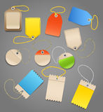 Shopping tags Stock Image