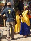 Shopping in Tanzania, Africa Royalty Free Stock Photos
