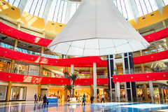 Shopping in Tbilisi Mall Stock Image