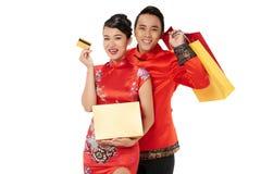 Shopping for Tet Stock Photos