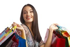Shopping theme Royalty Free Stock Photo