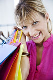Shopping therapy Stock Photography