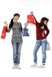Shopping time Royalty Free Stock Images