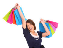 Shopping time! Royalty Free Stock Photo