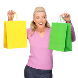 Shopping time Royalty Free Stock Photo