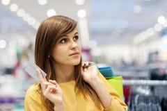Shopping time stock photo