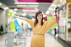 Shopping time royalty free stock photography