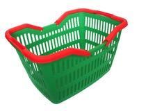 Shopping time. Shopping basket royalty free stock image