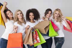 Shopping time! Stock Photo