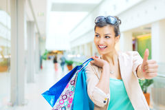Shopping time Royalty Free Stock Photos