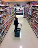 Shopping toddler