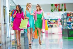 Shopping together Royalty Free Stock Images