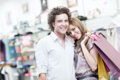 Shopping Together Stock Photos