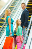 Shopping together is fun! Royalty Free Stock Photos