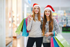 Shopping together Royalty Free Stock Photos