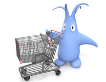 Shopping tour Stock Image