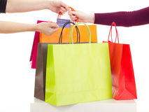 Shopping tour Stock Photo