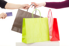 Shopping tour Royalty Free Stock Photo
