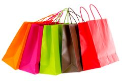 Shopping tour brightened Stock Images