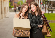 Shopping tour. Stock Photography