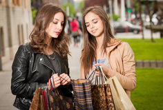 Shopping tour. Stock Images
