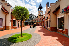 Shopping town Stock Photos