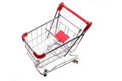 Shopping trolley Royalty Free Stock Photos