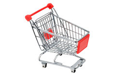 Shopping trolley cart Stock Image