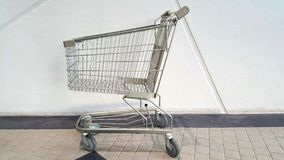Shopping trolley cart Stock Photography
