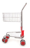 Shopping trolley cutout. Shopping trolley studio cut out Royalty Free Stock Photo